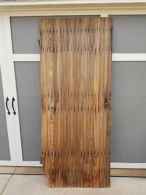 Two(2) Vintage Antique Barn Doors