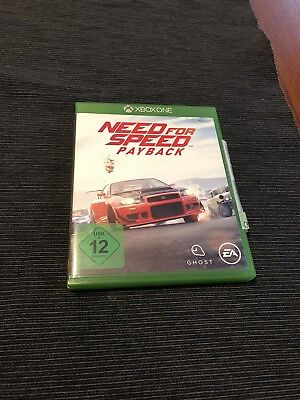 Need For Speed: Payback (Microsoft Xbox One, 2017)