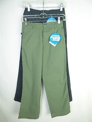 Columbia Youth - Lot of 2 - Slate Gray Army Green 'Flex ROC' 2pc Pants Sz M NWT