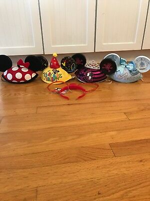 Lot Of Disney Parks Ears All New
