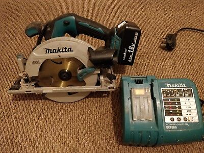 Makita DHS680 18V Cordless Brushless Circular Saw with 6ah battery and charger