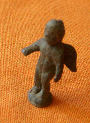 A326. Roman style bronze figure of Cupid