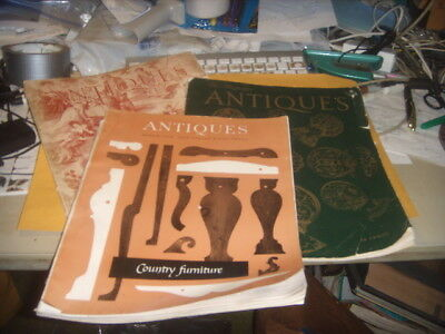 the antiques magazine lot 1942 1968 old vintage retro reference history collect