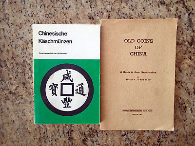 2 books on Chinese Coin Collecting
