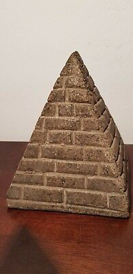 Rare Antique Ancient Egyptian Khufu big pyramid 7 wonders grave 2589–2566 BC