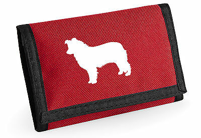 Border Collie Wallet with Sheepdog Design Birthday Gift for Dog Lover