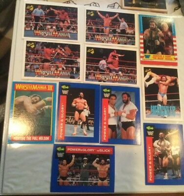 really cheap best choice delicate colors TOPPS TNA WWE WWF 6 HULK HOGAN WRESTLING CARDS a nice mix ...