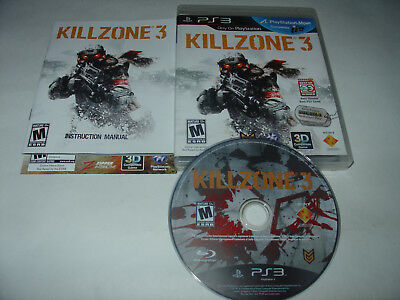 Killzone 3 (PlayStation 3, PS3) Fast Ship Complete
