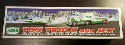 2010 Hess Truck and Jet NEW IN BOX