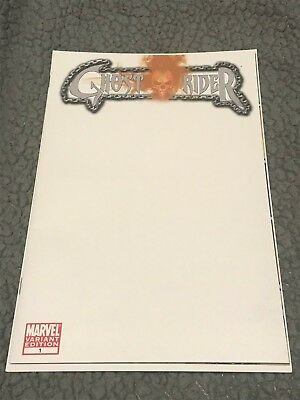 Ghost Rider #1   blank sketch cover variant