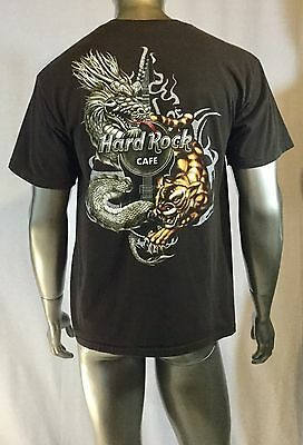 Hard Rock Cafe T Shirt San Francisco Size Large Col Brown