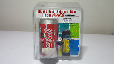 NEW 1996 Coca Cola can fishing reel