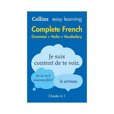 Collins Easy Learning Complete French by Collins Dictionaries (author)