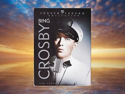 Bing Crosby Screen Legend Collection 3 DVD Set Very Good Condition