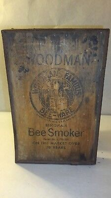 Antique Bee Smoker Woodman Woodman's Famous Bee-Ware Beekeeping Honeybees