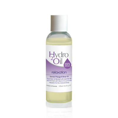 Relaxation Massage Oil - 125ml Hydro 2 Oil Massage Oils**FREE SHIPPING**