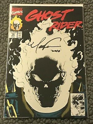 Ghost Rider #15  Texiera signed  GLOW-IN-THE-DARK  cover