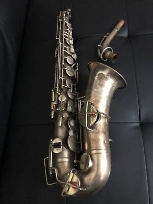 Buescher True Tone Alto Saxophone Low pitch