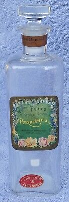 Iowa City, Iowa master perfume. PRICE'S NATURAL FLOWER PERFUME, DAMASK ROSE