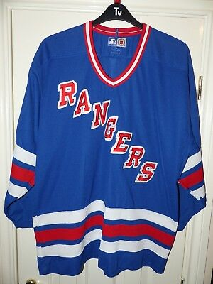 OFFICIAL LICENSED NHL New York Rangers Ice Hockey Jersey Mens Adult Large