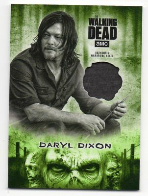 Daryl Dixon 2018 The Walking Dead Hunters and Hunted Wardrobe Relic 13/25