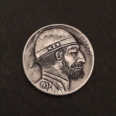 Hand Carved Hobo Nickel Classic Style
