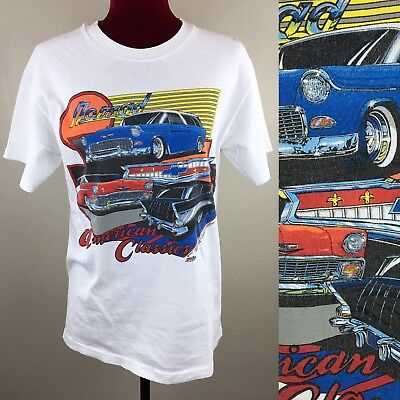 Vintage 1990's Nomad American Classics Car Hot Rod T-Shirt Low Rider 90s GMC Med