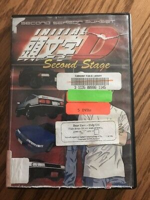 Initial D: Second Stage: Season 2 DVD