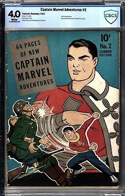 Captain Marvel Adventures #2 NO RESERVE Golden Age