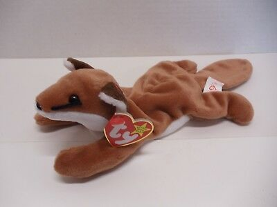 Ty Beanie Babies 1996 Sly Brown Fox