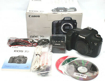 Canon EOS 7D Digital SLR Camera - Black (Body Only)