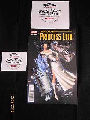 STAR WARS PRINCESS LEIA #1 NM J. SCOTT CAMPBELL 1:50 variant Marvel Comics