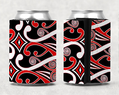 Traditional Maori Stubby holder Can Cooler