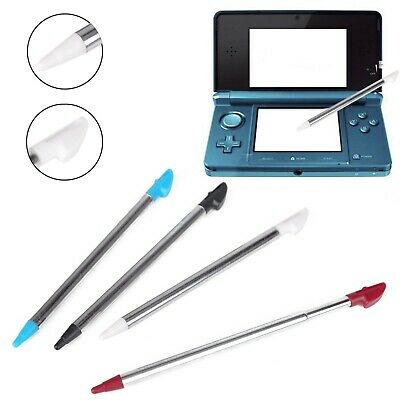 4 pcs Retractable Colorful Tip Stylus Touch Screen Pen For Nintendo 3DS XL/LL