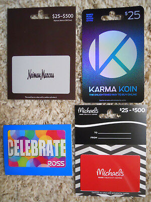 Collectible Gift Cards, with backing, no value on cards, new and unused     (ZE)
