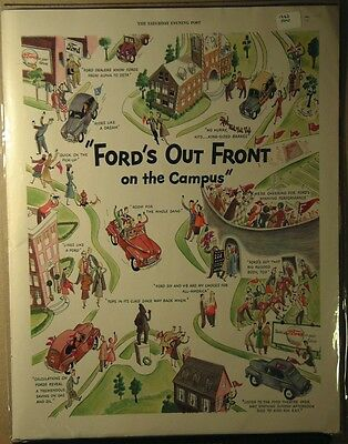 1947 Ford Ad Ford's out front on Campus
