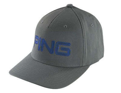 2018 PING TOUR Structured Hat Fitted Mens Golf Cap Turquoise Size S ... 96afb6cfc67b
