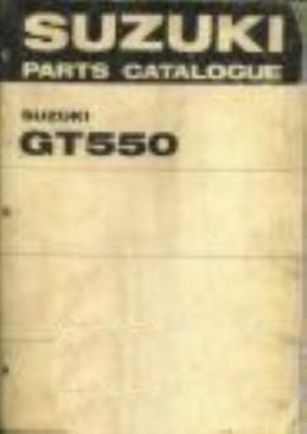 Catalogue Parts Suzuki GT550 (J.K)