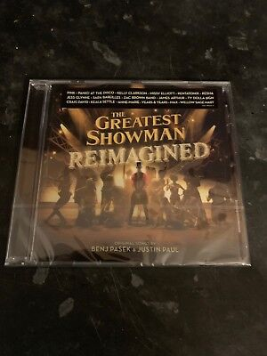Reimagined The Greatest Showman 2019 Full Movie Soundtrack CD Album Various New