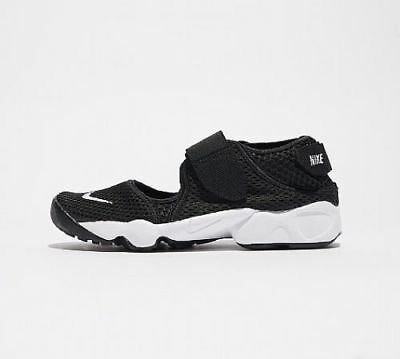 Nike Air Rift GS/PS Boys/Girls/Women's Trainers Shoes 322359 014 Black/White