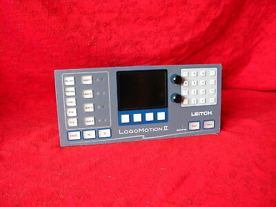 Leitch Logomotion Ii Remote Control Panel