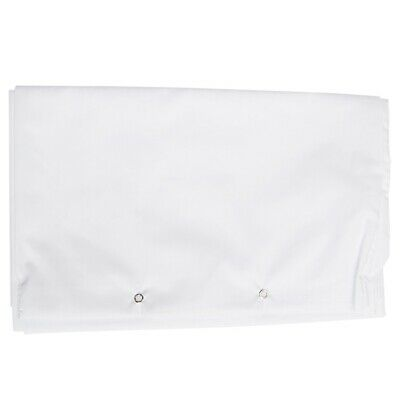 12 Foot Maternity Pillow Case Comfort U Shape Support Pregnancy - White
