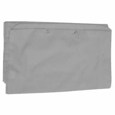 12 Foot Maternity Pillow Case Comfort U Shape Support Pregnancy - Grey