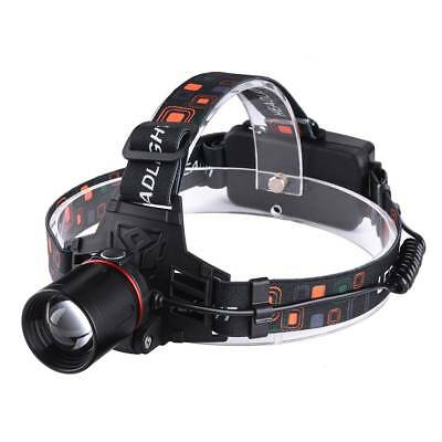 UK 8000LM 3 x XML CREE T6 LED Rechargeable Head Torch Headlamp Light Lamp