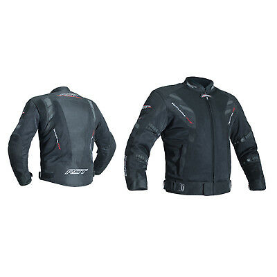 RST Pro Series 2702 Ventilator V CE Mens All Season Motorcycle Jacket - Black
