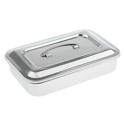 Stainless Steel Container Organizer Box Instrument Tray To Storage Box With B1K6