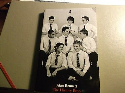 The History boys, Alan Bennett, paper back book
