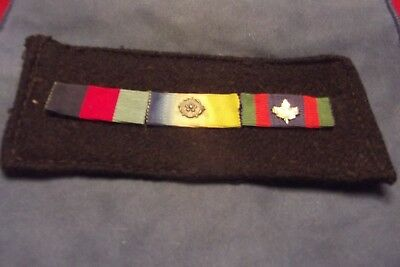 WW II Canadian Naval Ribbons
