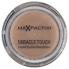 RRP £12.99 Max Factor Miracle Touch Liquid Illusion Foundation Blushing Beige 55