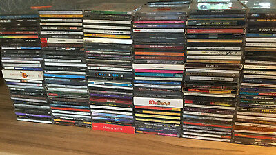 208 X  Genuine Music Cd's. Pop, Rock,  Mixed Music. Car Boot, Wholesale. (4)